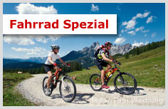 Fahrrad Deal in den first mountain Hotels