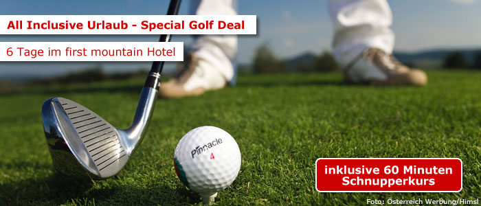 Golf Deal im first mountain Hotel