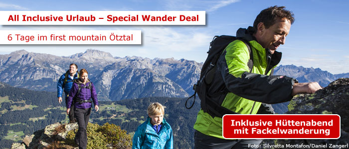 Wanderurlaub im first mountain Hotel