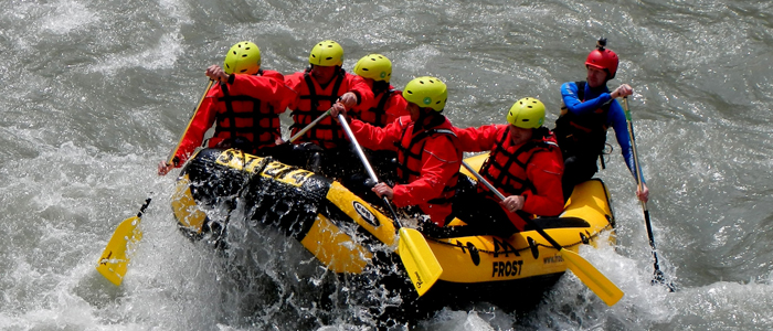 Rafting Canyoning in Kaprun