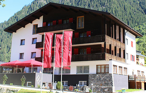 Das first mountain Hotel Montafon in Gaschurn
