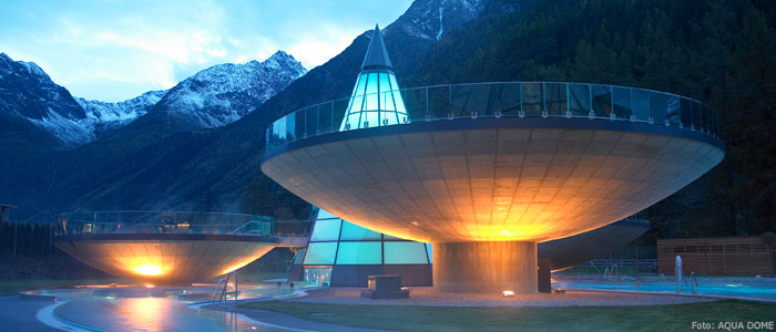 Aquadome in Sölden